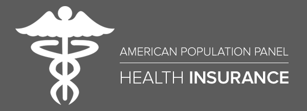 Health insurance mini survey with of caduceus graphic