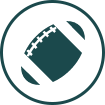 Football (American) graphic icon